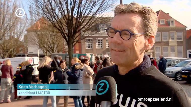 Koen Verhagen Zeeuws-Vlaamse kandidaat-LIJST30
