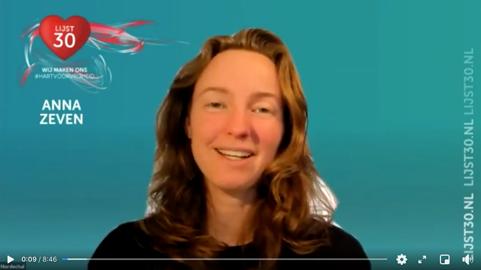 De missie en visie van Anna Zeven - Lijst30