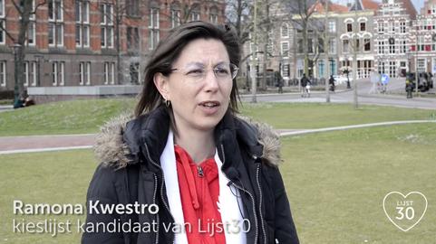 Lijst30 kandidaat Ramona Kwestro
