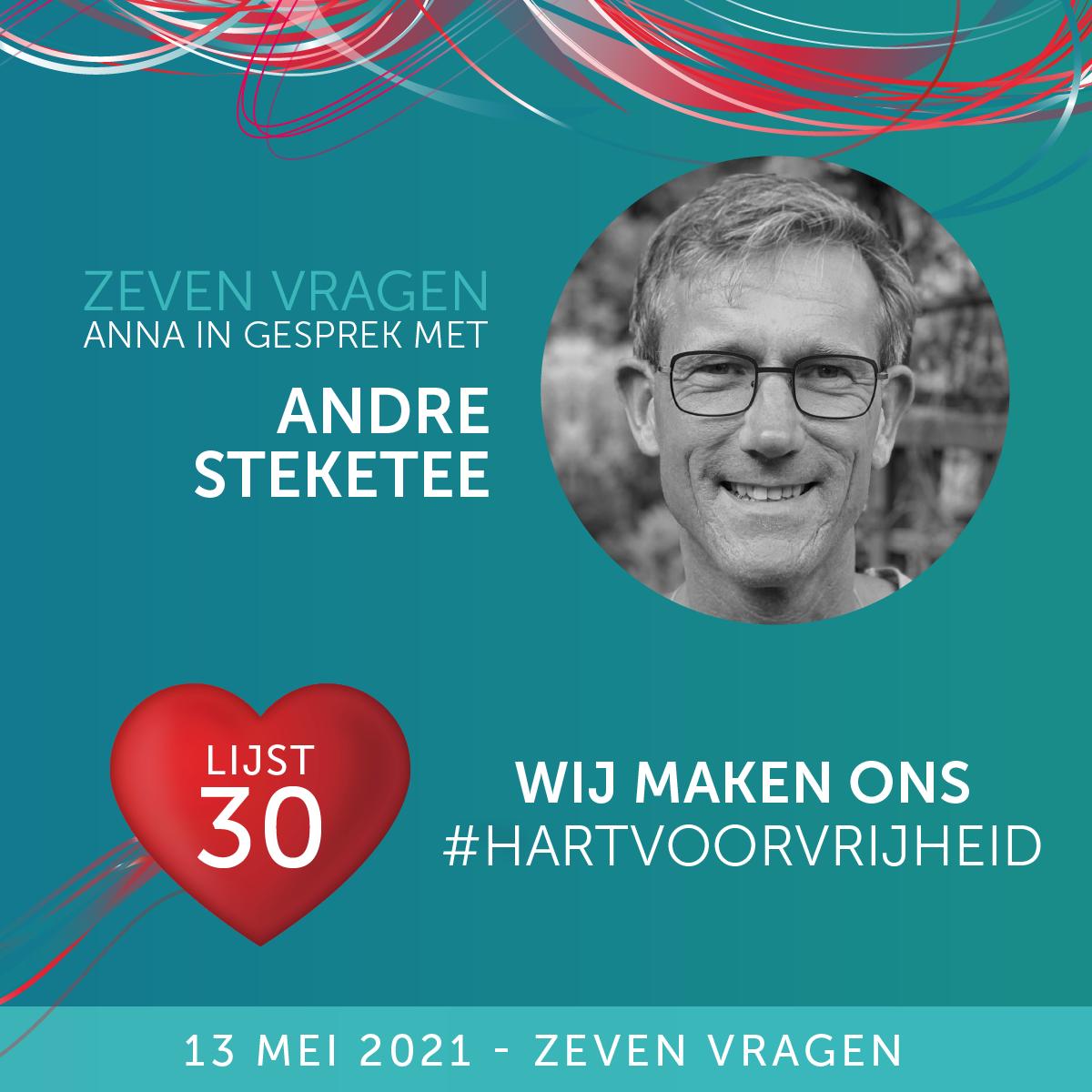 Zeven vragen - André Steketee