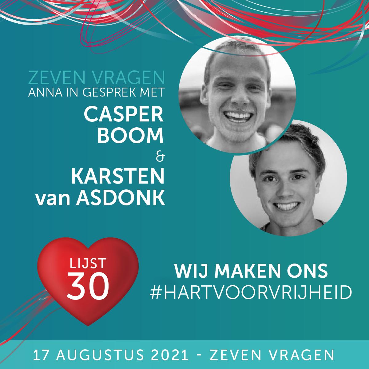 Zeven vragen - Casper & Karsten