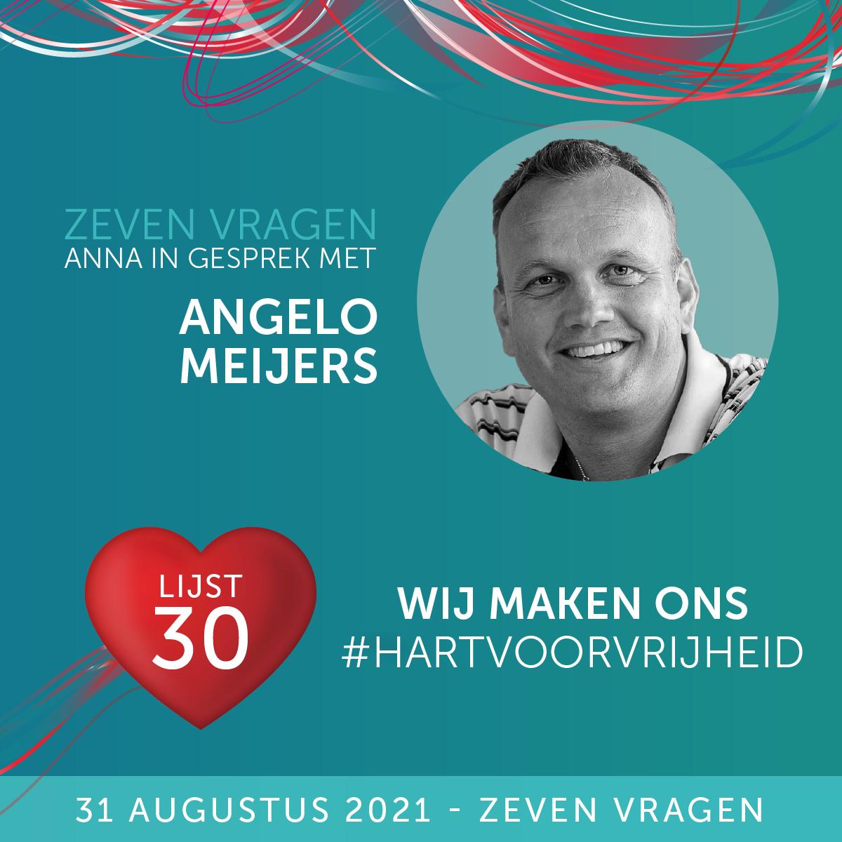 Zeven vragen - Angelo Meijers